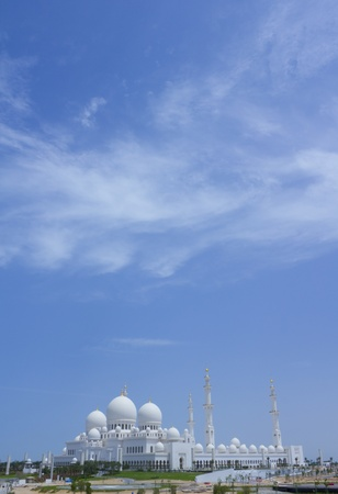 The Great Mosque of the Emir of Abu Dhabi (United Arab Emirates)