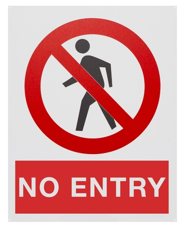 No entry sign Stock Photo - 12090917