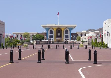 alam: Al Alam Palace in old Muscat, Oman