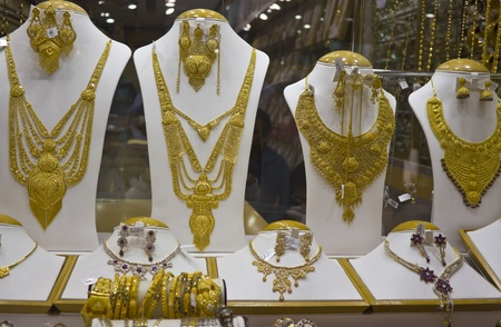 gold souk: Jewelry at Dubai