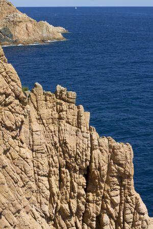 costa brava: Tamariu Costa Brava, Girona Catalogne, Espagne