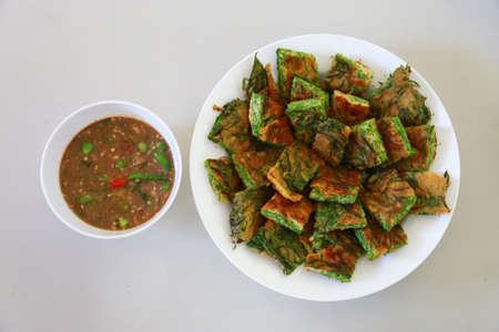shrimp paste sauce with ACACIA OMELETTE