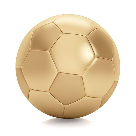 Soccer ball. This image contains clipping for easy background removing.