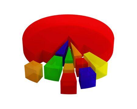 Diagrams Stock Photo