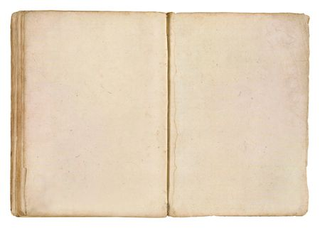 Îld Book With Two Blank Pages For Your Copy.