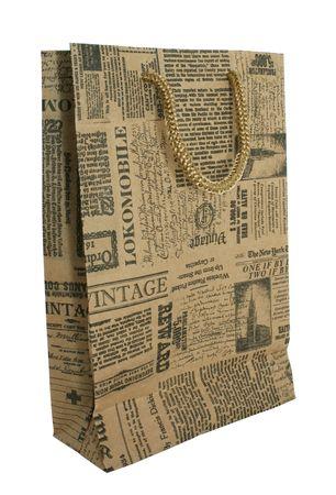 old newspaper: Paper Bags