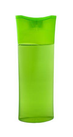 Shampoo bottle isolated on white Stock Photo