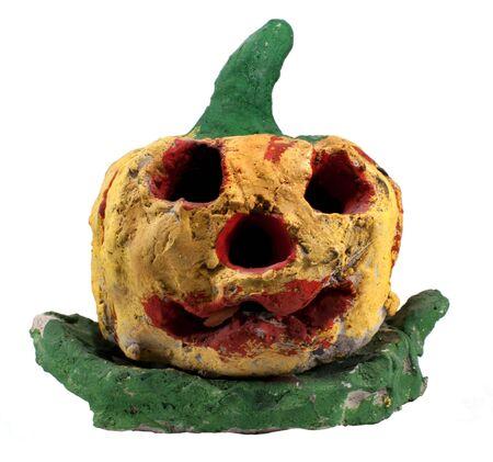 Clay Halloween Pumpkins