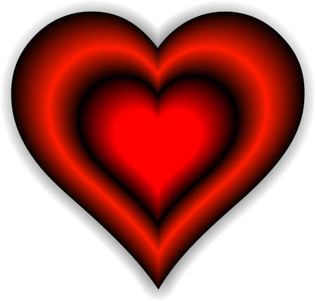 Heart - symbol of love and romantic feelings