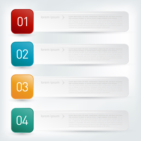 Infographic design template. Vector illustration. Illustration
