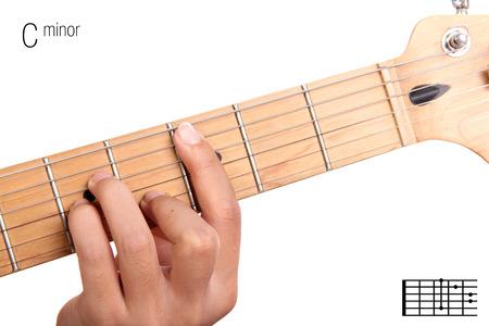 Fm Basic Minor Keys Guitar Tutorial Series Closeup Of Hand
