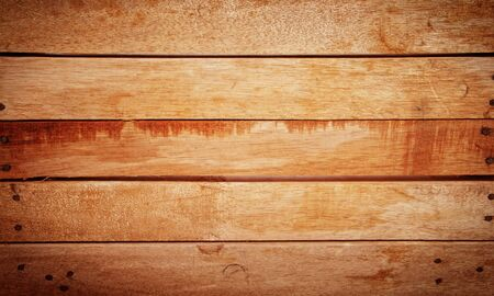wood panel: Natural brown rustic wood panel textured background