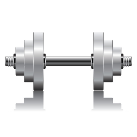 benchpress: Fitness icon dumbbell workouts