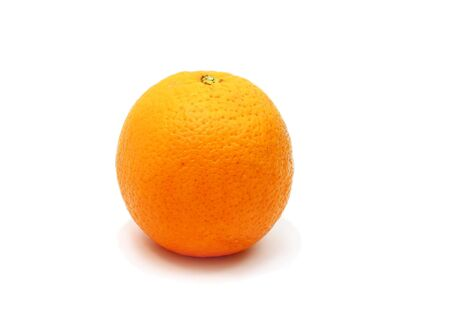 Orange isolated on white background with shadow  Stock Photo