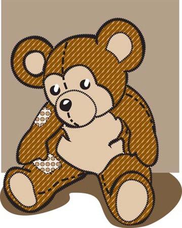 teddy bear Illusztráció