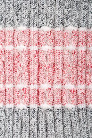 woolen cloth: red-gray woolen cloth texture