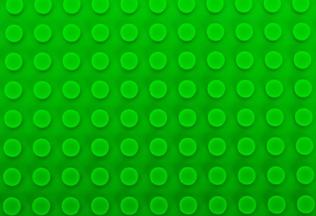 close-up green plastic construction background