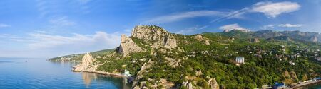 mountain landscape, panorama of Simeiz photo