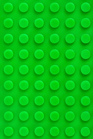 close-up green plastic construction background photo