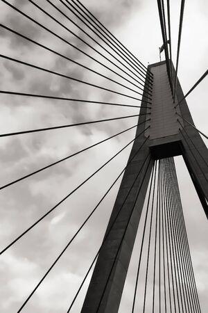 anzac: Anzac bridge in sydney, australia
