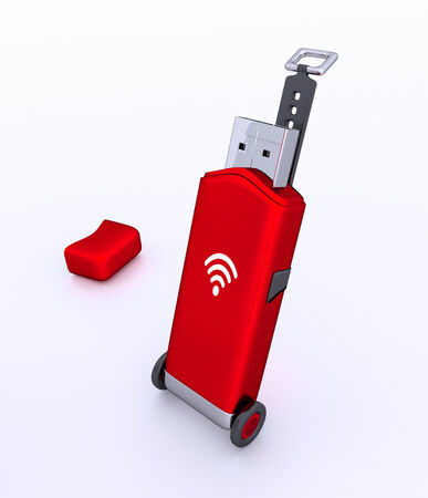 3d Portable USB wifi