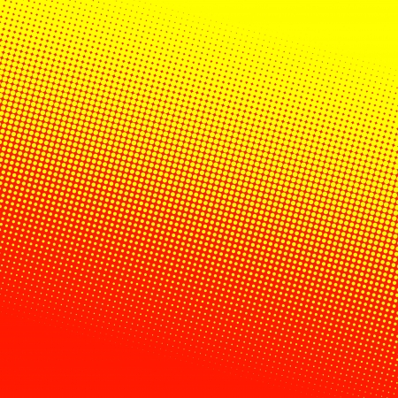 yellow and red halftone background