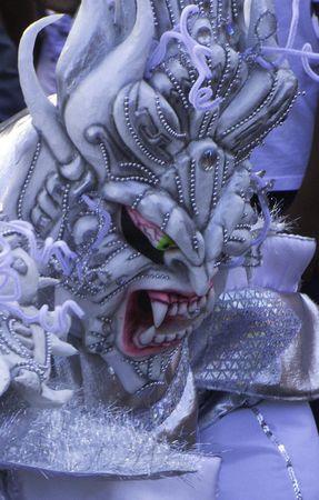 Carnival disguise mask Banco de Imagens