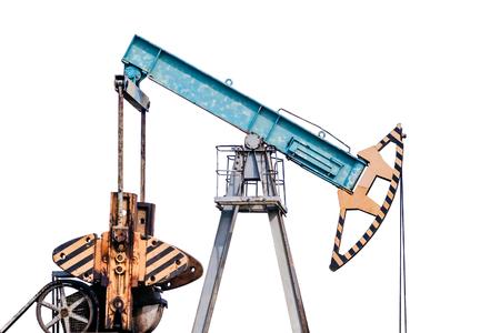 isolation tank: Oil pump on white background. Stock Photo