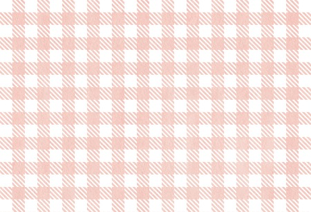 checked: Classic checked pink watercolor texture. Watercolor pink checked background. Salmon watercolor checked texture.