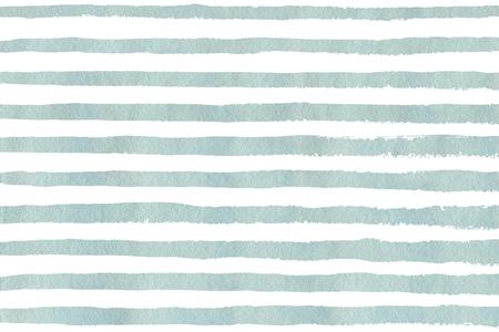 Waterverf het licht blauwe streep grunge patroon. Abstracte lichtblauwe en witte penseelstreken achtergrond. Hand getrokken strepen patroon voor textiel print, textiel design, mode.