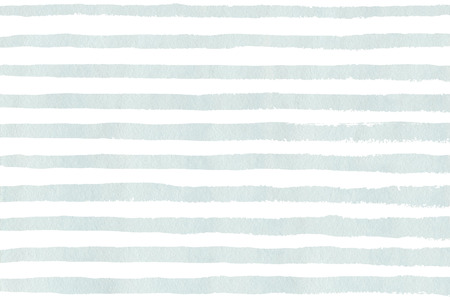 Watercolor light blue stripe grunge pattern. Abstract light blue and white brush strokes background. Hand drawn stripes pattern for fabric print, textile design, fashion.