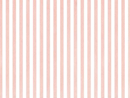 Acuarela rayas de color rosa de fondo. rayas de color salmón de la acuarela. Resumen acuarela de fondo con rayas de color rosa.