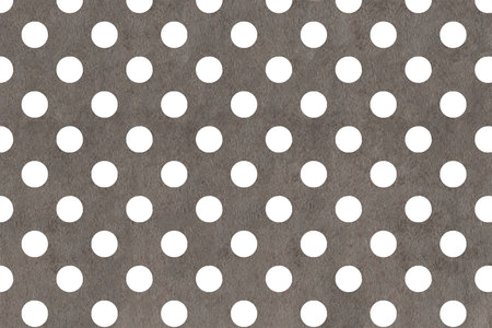 White dots on grey watercolor background. Standard-Bild