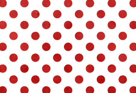 dark red: Watercolor dots in dark red color.