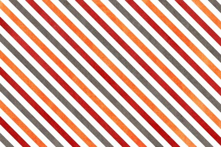 dark red: Abstract watercolor background with orange, dark red and grey stripes.