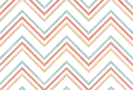 Abstract watercolor background with pink, beige and blue stripes on white background. Stock Photo