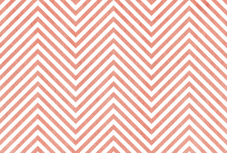 pink stripes: Watercolor pink stripes background, chevron. Abstract watercolor background with pink stripes on white background.
