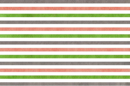 pink and green: Watercolor pink, green and grey striped background. Abstract watercolor background with pink, green and grey stripes.