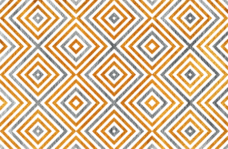 geometrical pattern: Golden and silver geometrical pattern. For fashion textile, cloth backgrounds