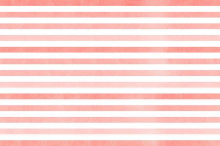 Watercolor light pink striped background. Pink gradient pattern. Standard-Bild