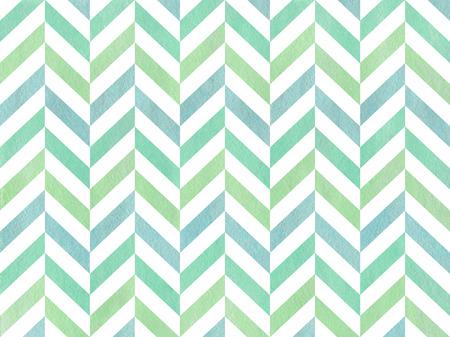 blue stripes: Watercolor mint green, blue and seafoam blue stripes background, chevron.