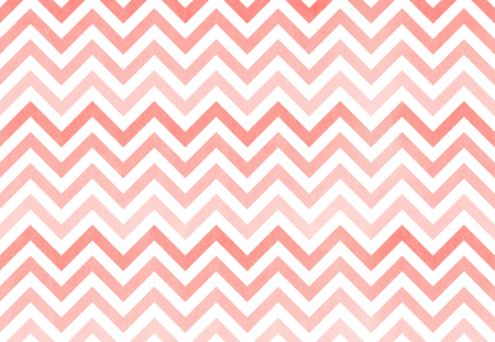 pink stripes: Watercolor light pink stripes background, chevron. Pink gradient pattern Stock Photo