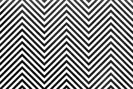 Watercolor black stripes background, chevron. Black monochrome pattern