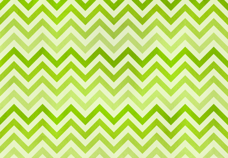 Watercolor lime green stripes background, chevron. Green gradient pattern