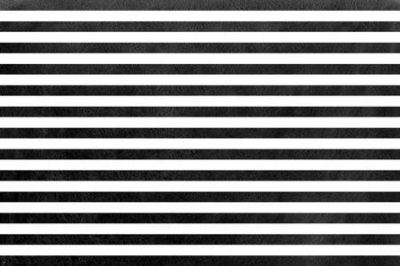 striped background: Watercolor black striped background. Black monochrome pattern.