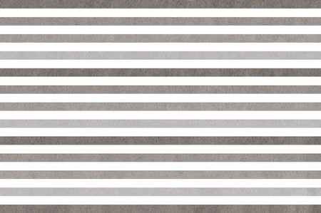 striped background: Watercolor gray striped background. Gray gradient pattern. Stock Photo
