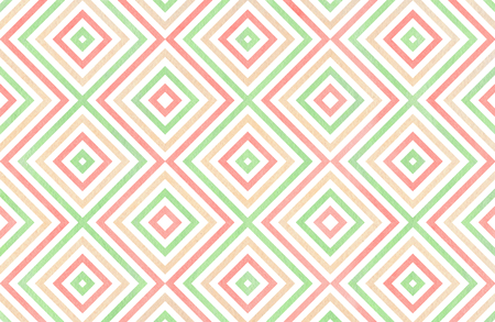 63540286 watercolor geometrical pattern in light pink beige and mint green colors for fashion textile cloth backgrounds
