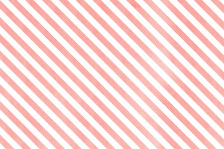 수채화 라이트 핑크 줄무늬 배경입니다. 수채화 기하학적 패턴입니다.