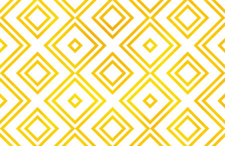 geometrical pattern: Watercolor geometrical pattern in yellow color. For fashion textile, cloth, backgrounds. Stock Photo