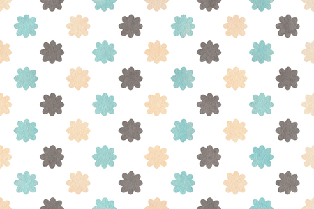 gray flower: Watercolor blue, beige and gray flower pattern. Watercolor flowers on white background.